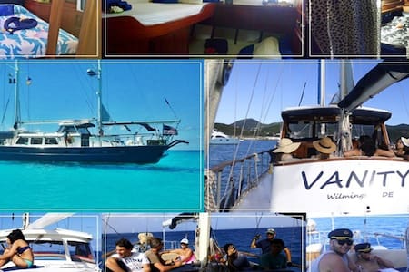 Bed&Breakfast Yacht (check in/out in St. Martin) - Lower South Hill