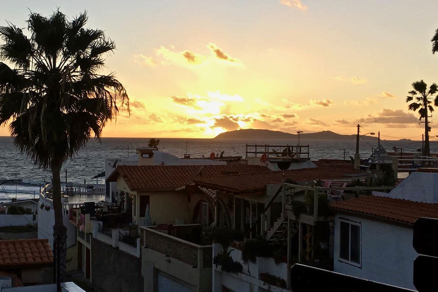 Amazing Baja Sunset from the Deck