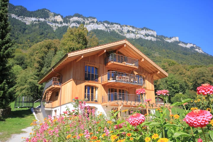 Modernes XL Naturhaus in Traumlage - Ringgenberg - 一軒家