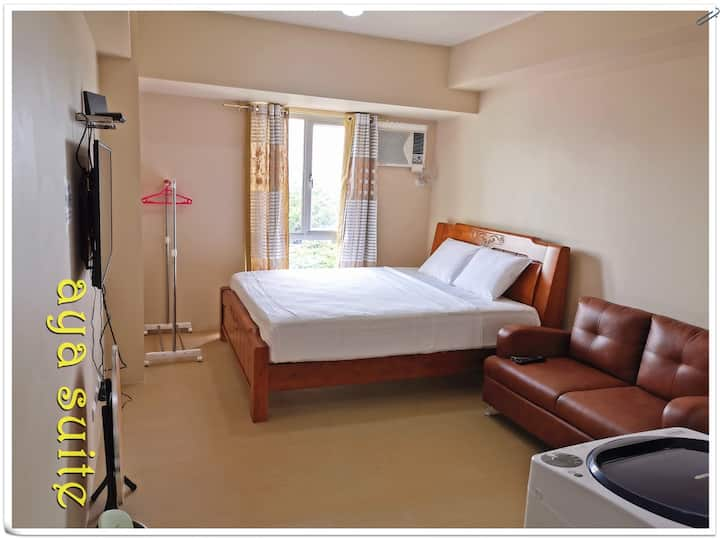 NO.6 king size bed,cenrtio tower ,cable tv,wifi