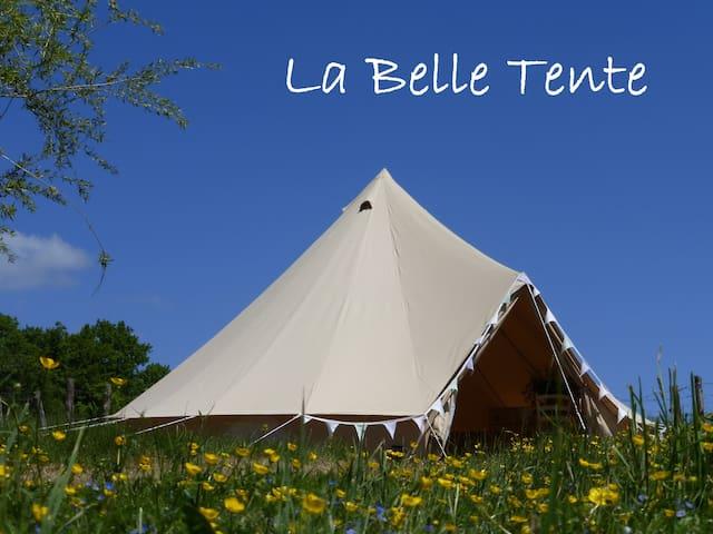 La Belle Tente shabby-chic glamping - Arnac-Pompadour - Tenda