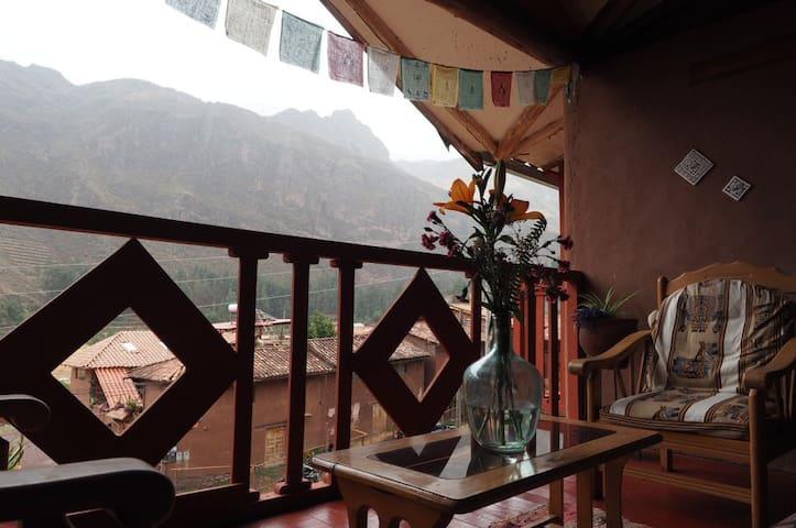 La Chakana Pisac Rm#3 - 2 twin beds, garden view