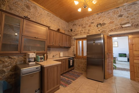 Renovated spacious old wine cellar