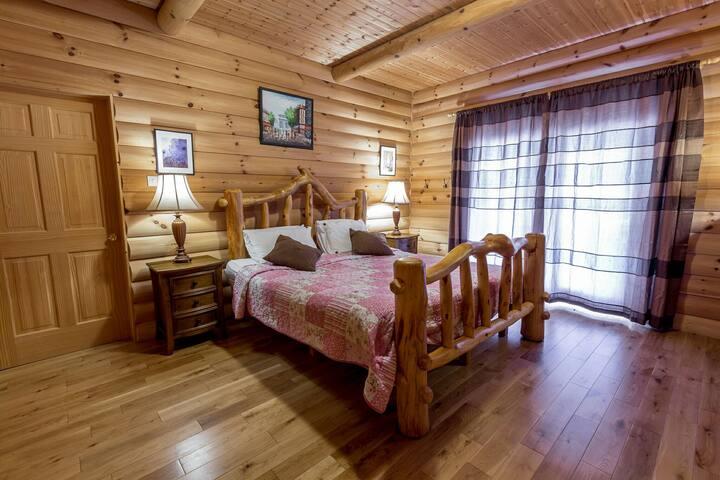 Room in a Log cabin - Liscarney, Westport - House