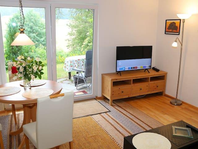 Ferienwohnung Jachmann, (Schönwald), Ferienwohnung Jachmann, 80qm, 2 Schlafzimmer, max. 5 Personen