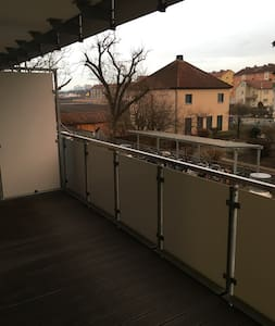 bright apartment in bamberg near feki - แบมเบิร์ก