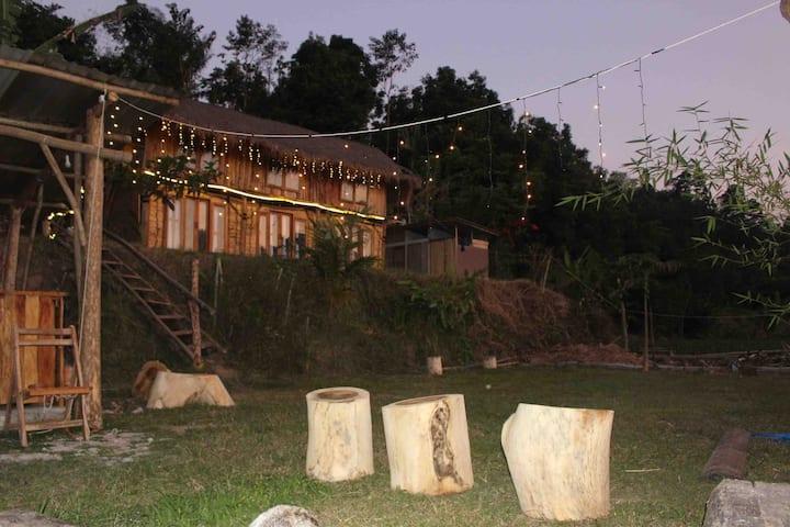 De Chicktoria (6 bed treehouse)