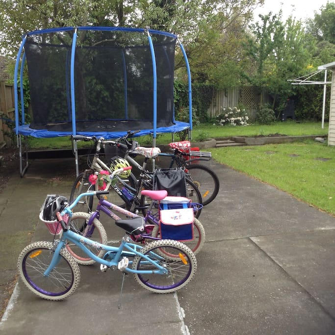 Adult and kids bikes to go