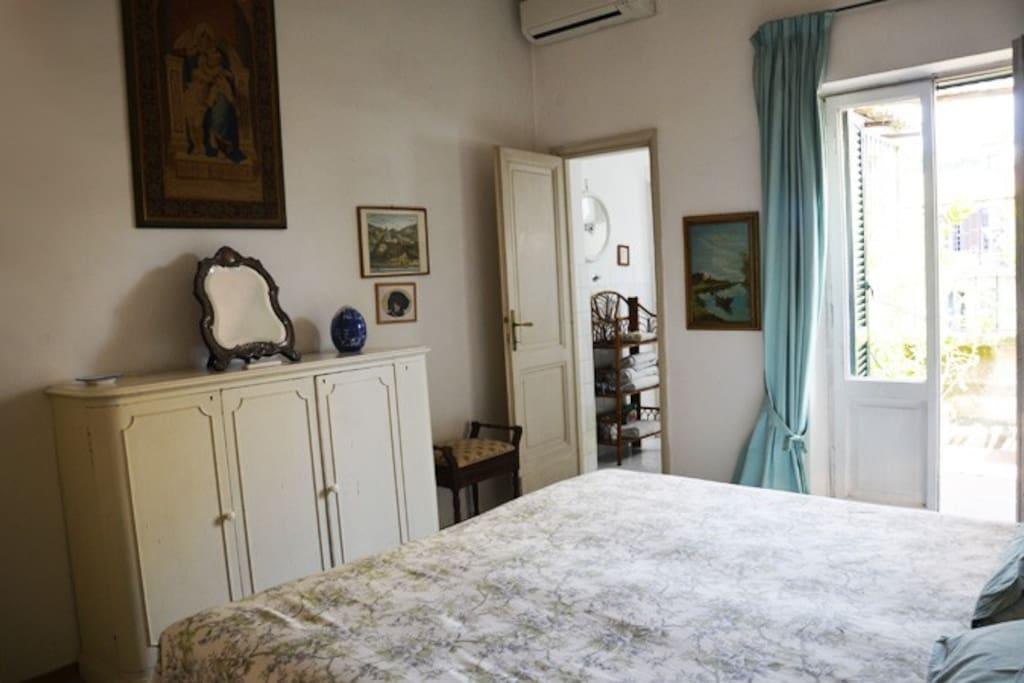 Camera matrimoniale con letti separabili
