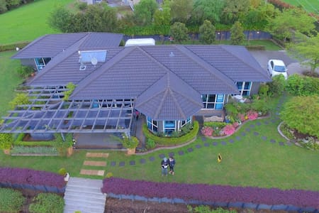 Delux  Twin Single -Waitomo Orchard Estate B&B - Otorohanga - Bed & Breakfast