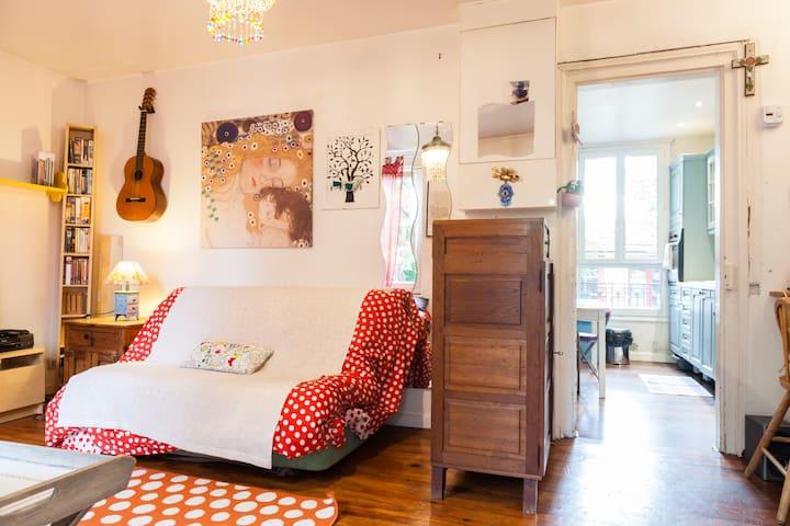 charmante petite maison avec jardin proche Paris - Bondy