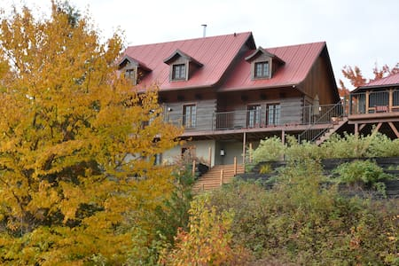Lakeside Cottage in Laurentians - La Minerve - Srub
