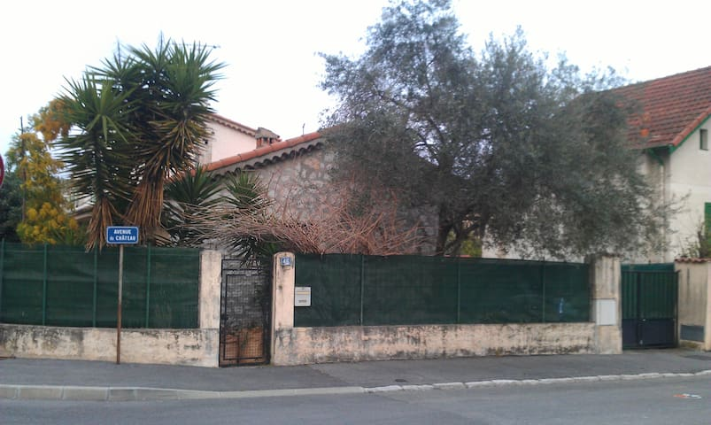small house with garden 5/6 pers - Villeneuve-Loubet - House
