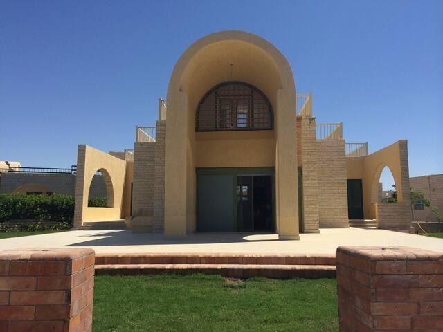 Beatuiful Long Beach Villa, North Coast, Egypt