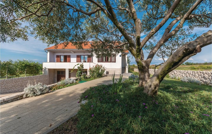 Stunning home in Privlaka with WiFi and 3 Bedrooms