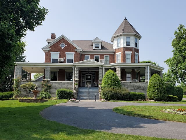 Walnut Hill Manor, a Classic Queen Anne Victorian