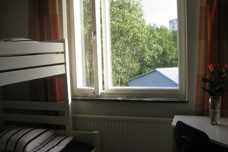 Room for 4p (or separate 2p more) 15 min from City - Stockholm