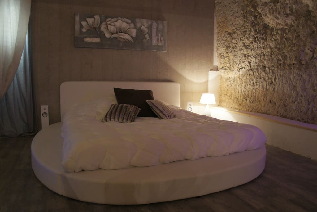 lit rond king size 180 x 200