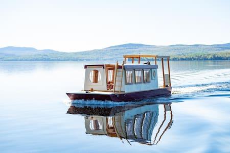 Floating Camp Roam ~Rangeley Lake, Maine~
