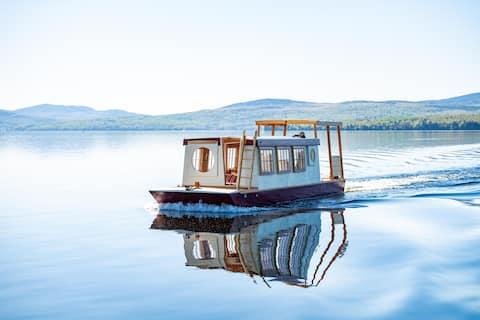 Floating Camp Roam  ~ Pemaquid Pond Maine ~