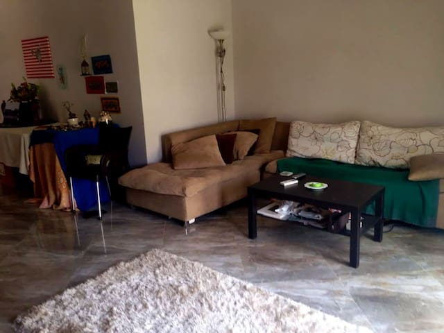One bedroom apartment with a garden. - New Cairo City - Apartment