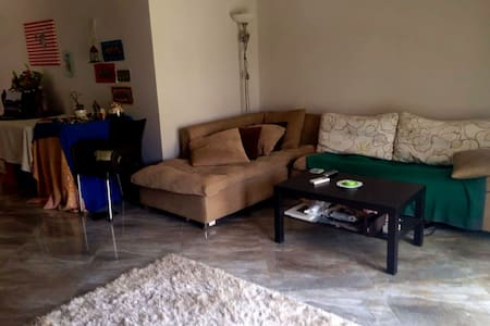 One bedroom apartment with a garden. - New Cairo City