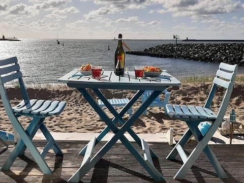 Beachhouse direct aan zee