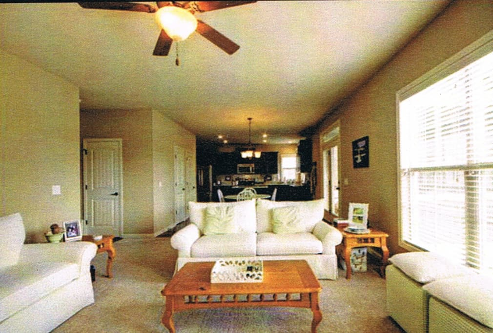 Open living room