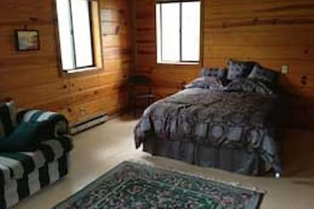 Cabin at yoga retreat center. - Willow Springs - Cabane