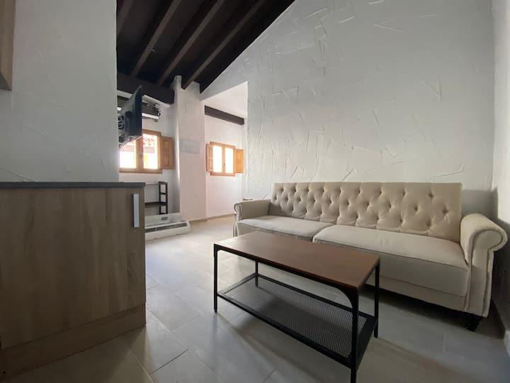 Bonito y tranquilo apartamento en pleno centro