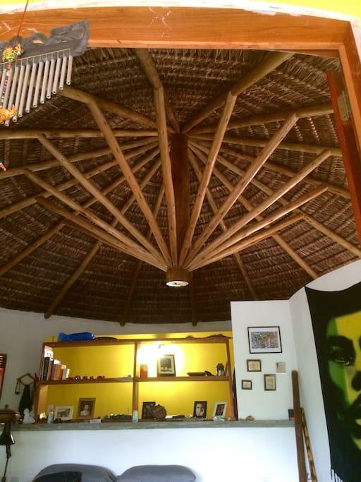 Piassava Roof