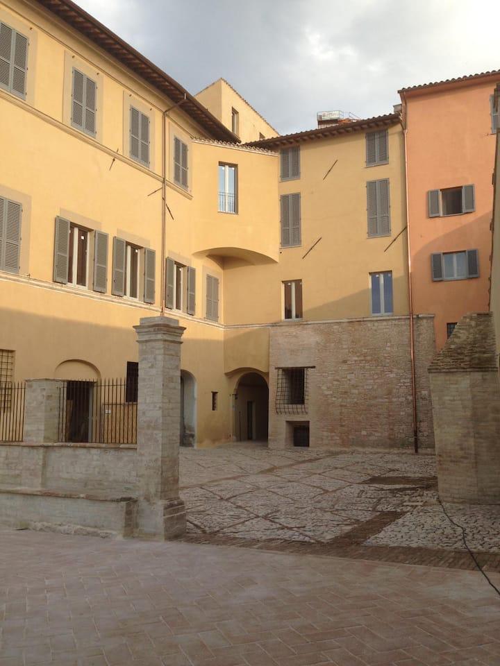 Moderner Komfort in historischem Palast