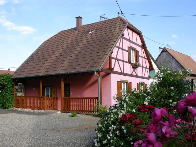 la maison d' Alsace - Stotzheim - Huis