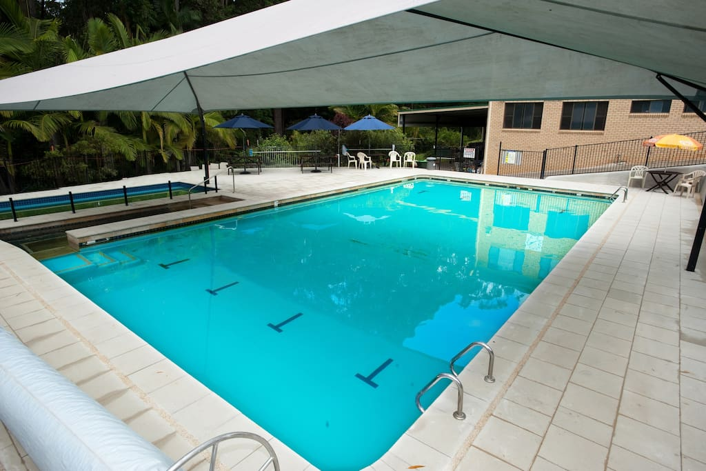 Pool 15m & shade cover