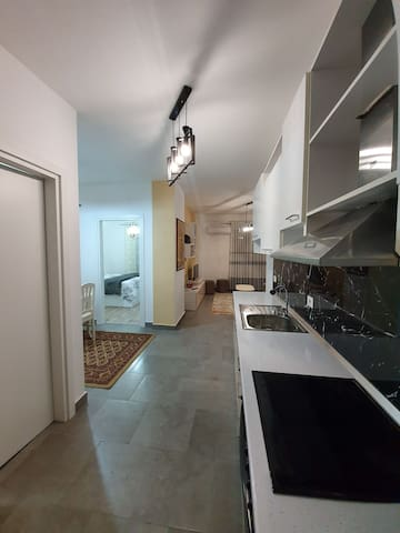 A cozy apartment in the heart of Tirana.