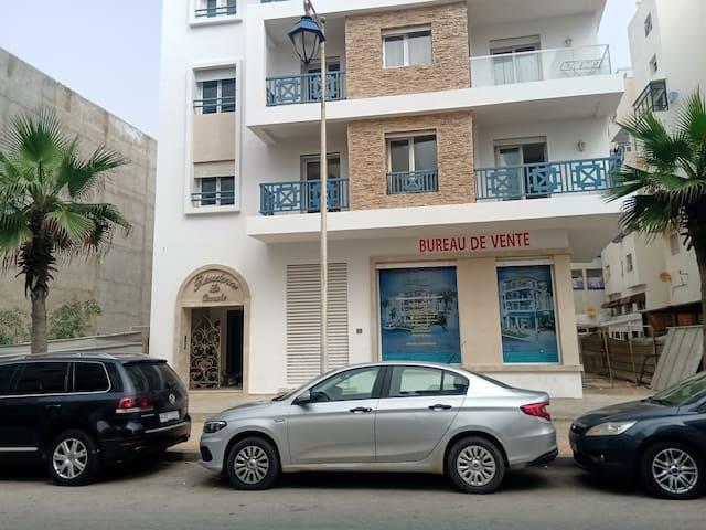 Residence la cornich Martil Beach  Apartment