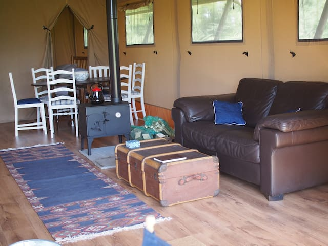 3. Glamping Lodges in Idyllic countryside, Wilts
