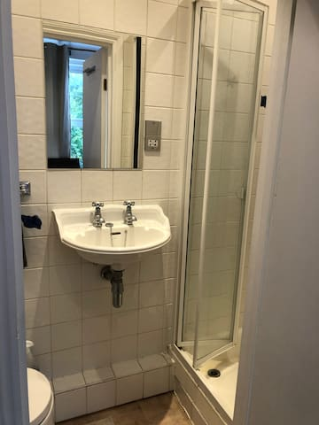 Ensuite shower and loo