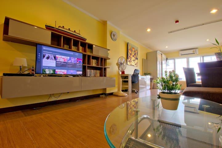 Luxurious condo downtown Hua Hin (206) - Tambon Hua Hin - Leilighet