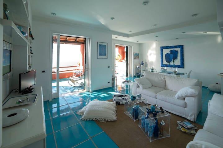 La casa Azzurra sul mare di Calapiccola - Cala Piccola - Apartment