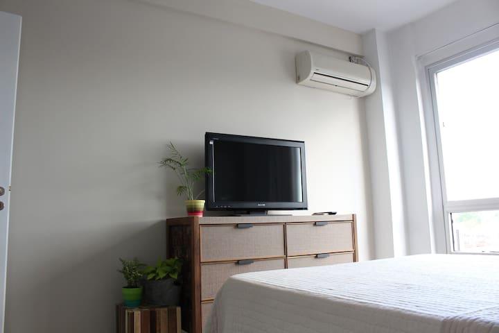 Cozy bedroom in a new apartment - Buenos Aires - Apartament