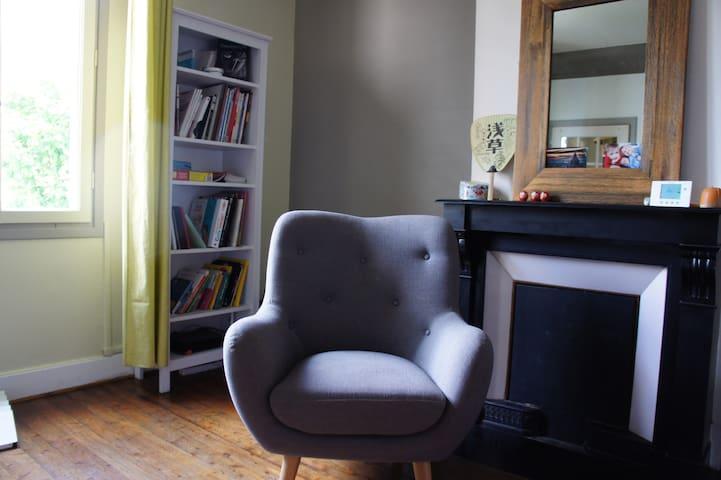 Maison 4 chambres + jardinet - au calme - - Fontaine - House