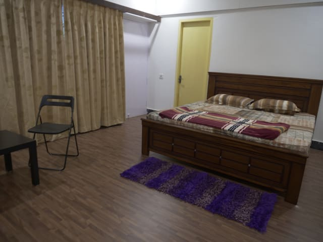 2 bhk A/C house with PARK view balcony (spacious)
