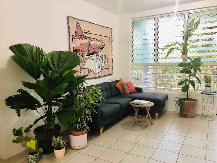 City's edge apartment