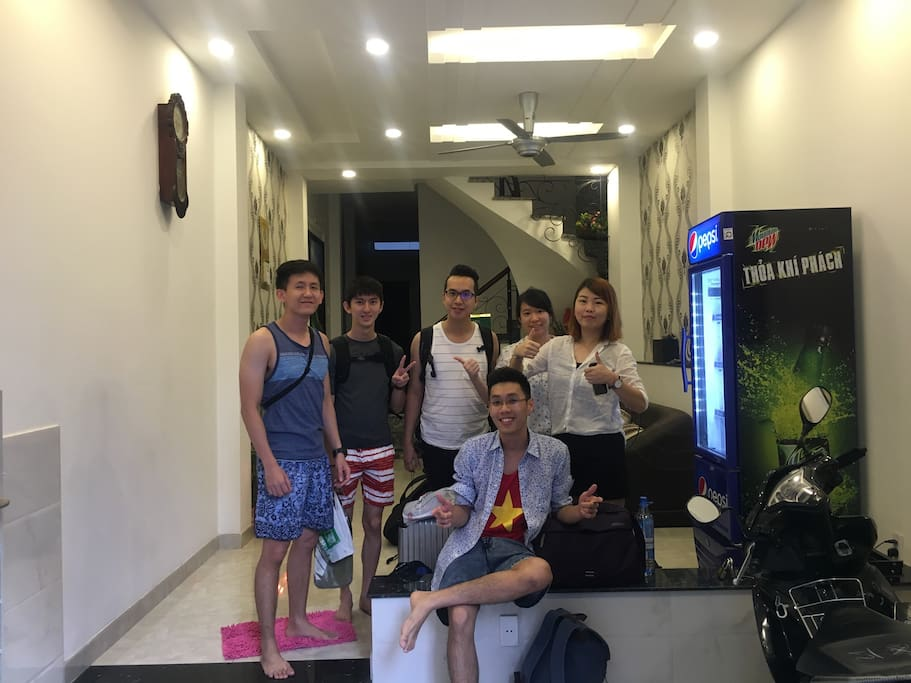 Lovely team from Singapor