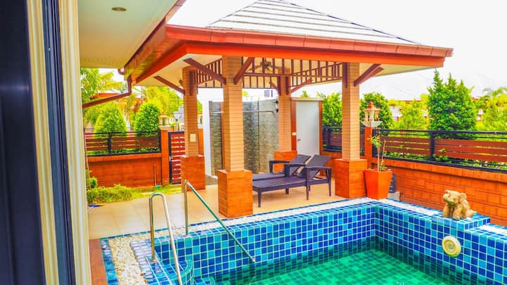 Villa with private pool, 2 bedroom, Baan Dusit