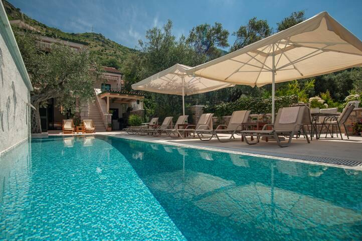 Villa Stevan at Sveti Stefan (with private pool)
