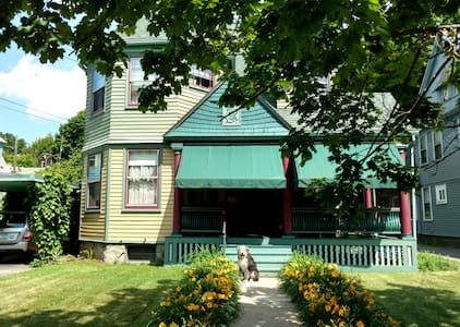 Queen Anne Bed & Breakfast Room #2 - Binghamton - บ้าน