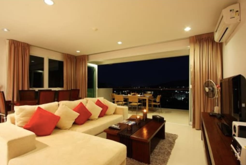 Spacious Living and Entertainment Area