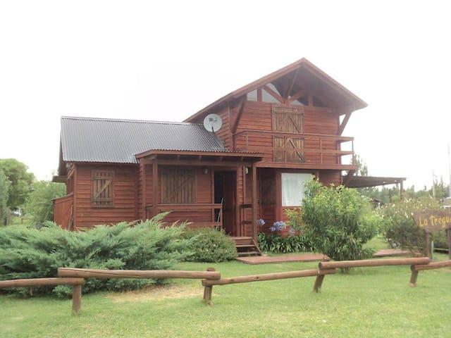 Alquiler Cabaña La Tregua Pileta Naturaleza